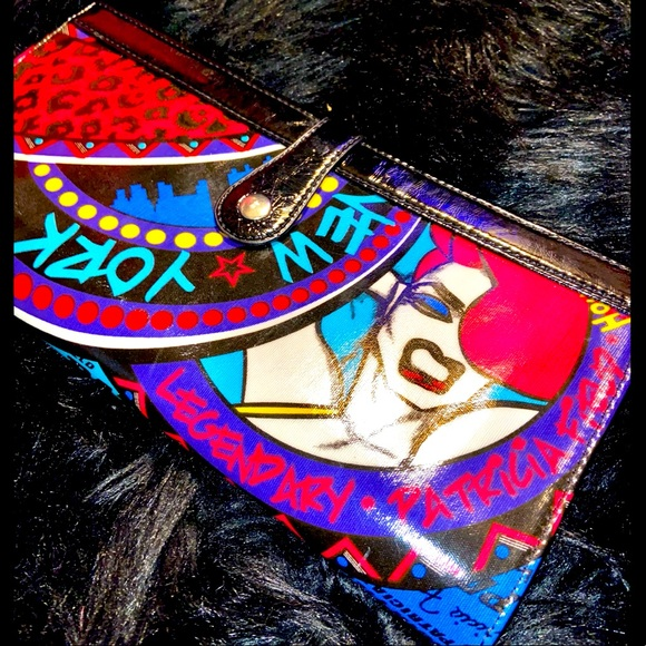 Limited Edition Patricia Field GraffitiClutch